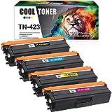 Cool Toner Kompatibel Tonerkartusche Replacement für TN-423 TN423 TN-421 TN421 für Brother MFC-L8690CDW MFC-L8900CDW HL-L8260CDW HL-L8360CDW DCP-L8410CDW MFC L8690CDW L8900CDW HL L8360CDW L8260cdw