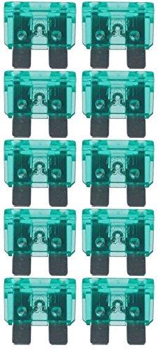 baytronic Standard Flachstecksicherung Kfz-Sicherung (10 Stück 30 A grün)