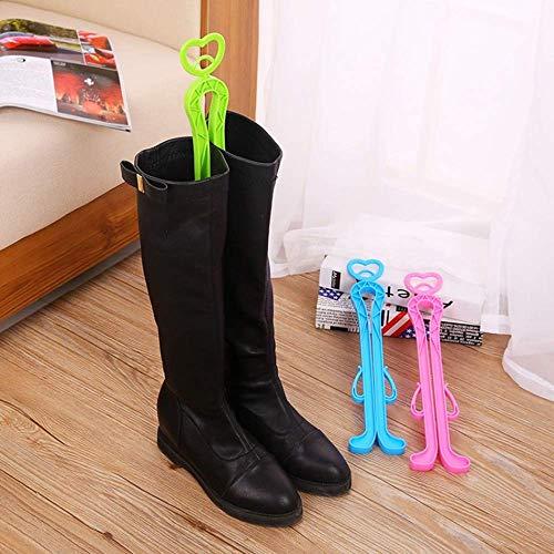 SISHUINIANHUA Kunststoff Lange Stiefel Unterstützung Creative Home Praktische Schuhe Unterstützung Herbst und Winter Stiefel Former Supporter Shaft Keeper