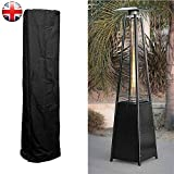 <span class='highlight'>TS</span> <span class='highlight'>Trade</span> 1 X Patio Heater Cover Outdoor Furniture Protector - Heavy Duty Waterproof Gas Pyramid Cover for Torch Patio Heaters, Triangle Glass Tube Heater