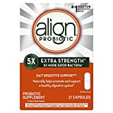 Align Probiotic Extra Strength, #1 Doctor Recommended Brand, 5X more good bacteria to Help support a healthy digestive system, 21 Capsules