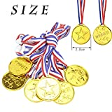 Zoom IMG-1 yuchisx 24 pezzi medaglie da