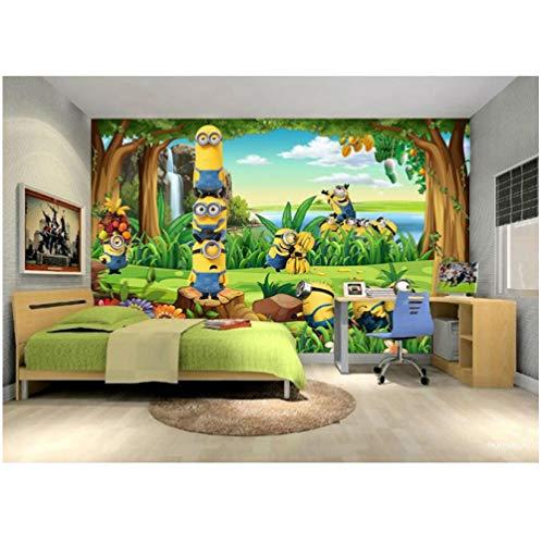 Achtergrondafbeelding 3D wallpaper woonkamer grappig behang 3D aangepaste fotobehang cartoon muurschildering bos kinderkamer kinderkamer kinderkamer kamer kamerdecoratie