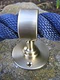 Soporte para cuerda (latón mate, para pasamanos de 30 mm)