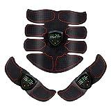 Perfeclan Ultimate ABS Simulator Entrenamiento de Cintura Home Gym Arm Abdominal Muscle Toner Belt - Red Rojo