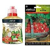 Semillas Batlle Abonos Ecológicos Fertilizante 400ml + Hortícolas Fresas del Bosque