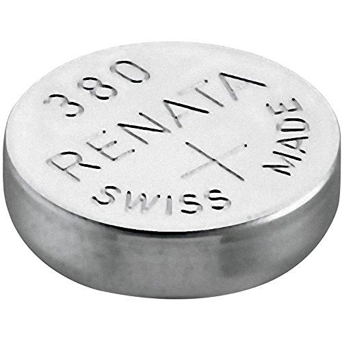 Renata - Pila bottone ossido d'argento 380 RENATA 1.55V 82mAh - Blister x 1