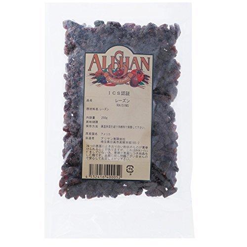 Alishan レーズン 250g ×4セット
