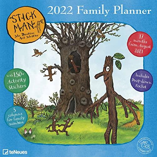 Stick Man Family Planner 2022