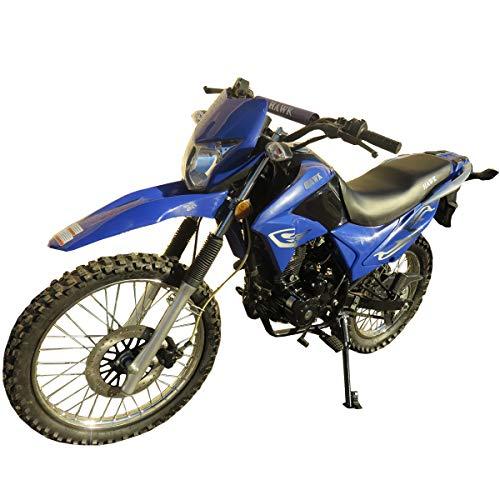 250cc Dirt Bike Hawk 250 Enduro Street Bike Motorcycle Bike ,Blue