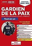 Concours Gardien de la paix - Catégorie B - Tout-en-un - Premier, second et troisième concours - Concours 2020