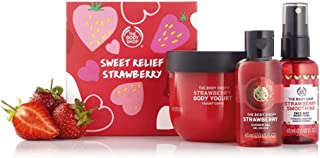 The Body Shop Strawberry Pick Me Up Kit - Our super-cute strawberry treats will uplift your spirits with a fruity-fragrant...