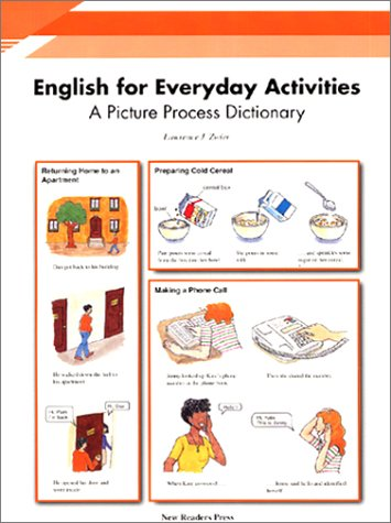 English for Everyday Activities: A Picture Process Dictionary (Monolingual Student Book)