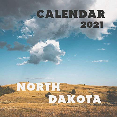 North Dakota: 2021 Wall Calendar - Mini Calendar, 8.5