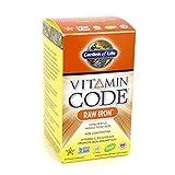 Garden of Life Vitamin Code Raw Iron, 30 Capsules (2 Pack)