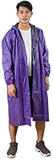 RYY Raincoats Long Rainwear,Hiking Outdoor Conjoined Adult Long Men and Women Extra Large Oxford Cloth Waterproof Large Si...