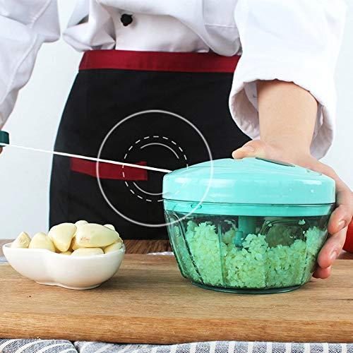 Picadora de alimentos manual Cortador de verduras Picadora ...