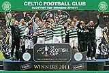 1art1 Fútbol - Celtic Glasgow, Scottish Cup Winners 10/11 Póster (91 x 61cm)