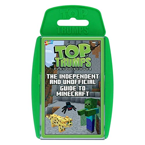 Winning Moves 037310 Top Trumps: The Independent & Unofficial Guide to Minecraft, Grün