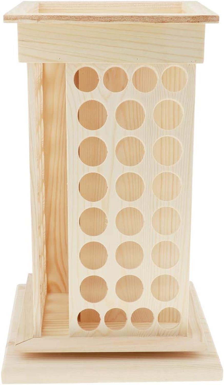 barato Baoblaze Estantes de de de Madera para Esmalte de Uas Soportes de Exhibición para Botellas Aceite Esencial  Compra calidad 100% autentica
