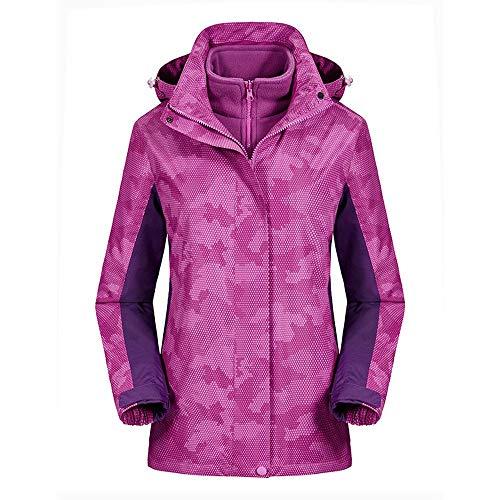 CHXZ Ms. Drievoudige Jassen Camouflage Ski Suits Winter Outdoor Sport Alpinisme Warm Liner