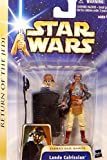 Hasbro Lando Calrissian Jabba's Sail Barge Return of The Jedi Figura No.07 - Star Wars Saga Collection 2002-2004