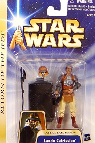 Hasbro Lando Calrissian Jabba`s Sail Barge Return of The Jedi Figur No.07 - Star Wars Saga Collection 2002-2004