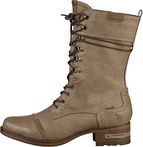 MUSTANG Damen 1229-509-318 Halblange Stiefel, Braun (Taupe 318), 39 EU