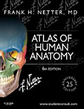 Atlas of human anatomy - Including Student Consult Interactive Ancillaries and Guides de Frank H. Netter MD