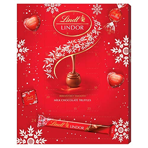 Lindt Lindor Milk Chocolate Advent Calendar, 315 g
