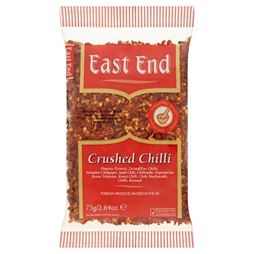 East End Aplastado 75g Chile (Paquete de 2)