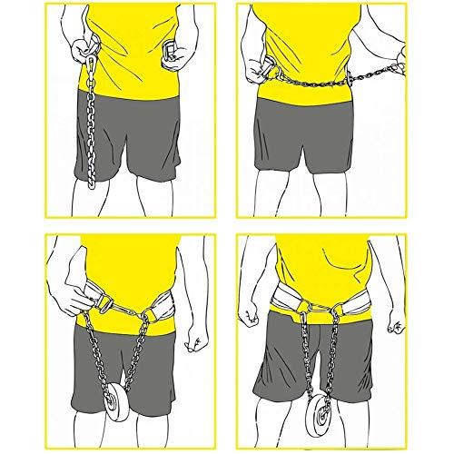 C.P. Sports Trainings Dip Gürtel Leder Komfort Gepolstert, Natur, One size, 38757 - 2