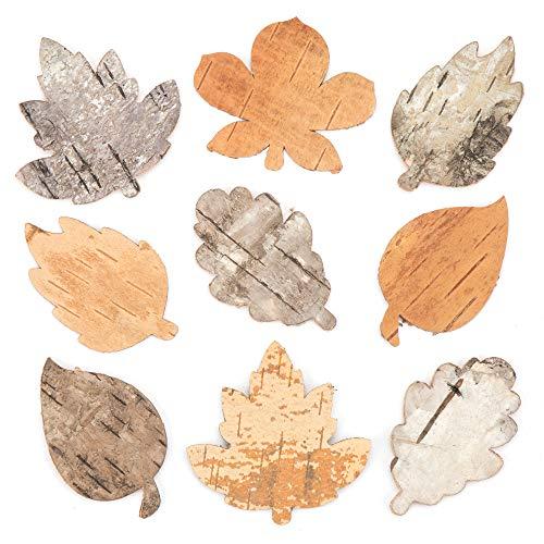 Baker Ross Baumrinden-Blätter – Kreatives Bastelmaterial für Kinder für Bastelarbeiten und Dekorationen (30 Stück)