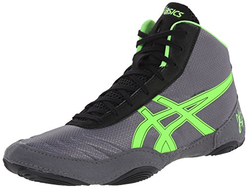 ASICS Men's JB Elite V2.0 Wrestling Shoe, Granite/Green...