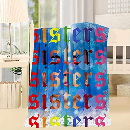 8848 James Charles Blanket Soft Interesting Durable 3D Full-Frame Printing Bed Blanket Throw Twin 60x80inch