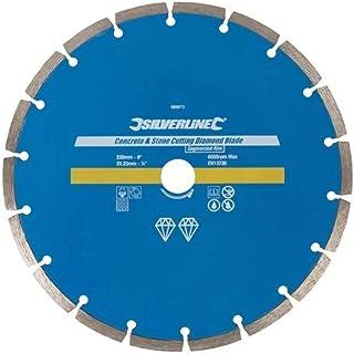 Silverline 589673 Disco de corte diamantado para piedra y