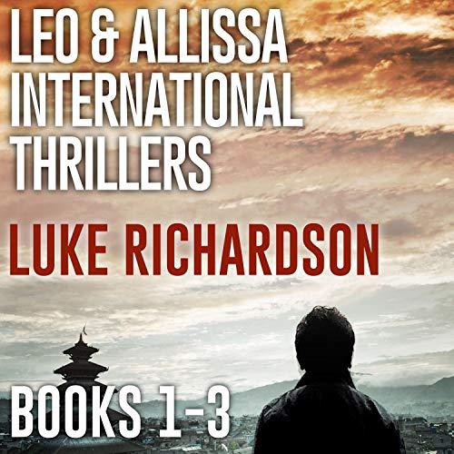 Leo & Allissa International Thrillers Box Set 1-3 cover art