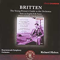 Britten: Young Person's Guide to the Orchestra, Suite on English Folk Tunes, Johnson over Jordan, Four Sea Interludes by O'Brien (2013-07-30)