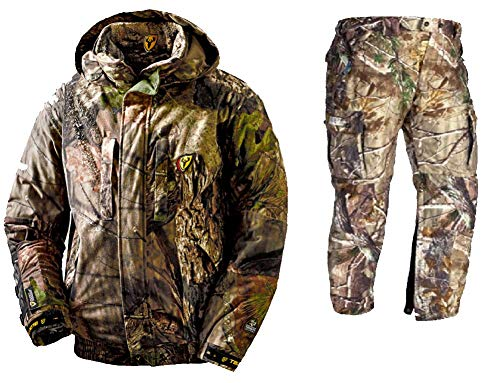 Scent Blocker Outfitter Suit Jacket & Pants, Mossy Oak Country, XX-Large