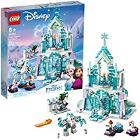701-Pieces LEGO Disney Princess Elsa's Magical Ice Palace Building Kit (2019 set, Frustration-Free Packaging)