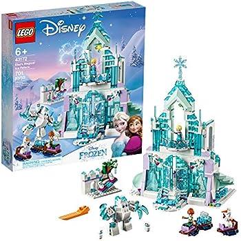 701-Pieces LEGO Disney Princess Elsa's Magical Ice Palace Building Kit