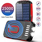bateria externa solar power bank 25000