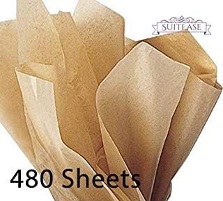 Wrap Tissue Ream Paper, Premium Quality Solid Kraft, Large Sheets 20 x 30