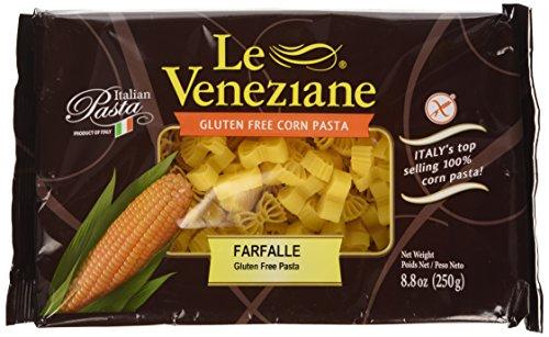 Le Veneziane Italian Gluten Free Corn Pasta Farfalle 250