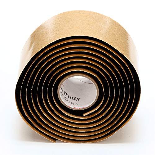 3M FIL Scotchfil Selbstverschweißendes Buthyl-Kautschuk-Band, 38 mm x 1,5 m, 3 mm, Schwarz