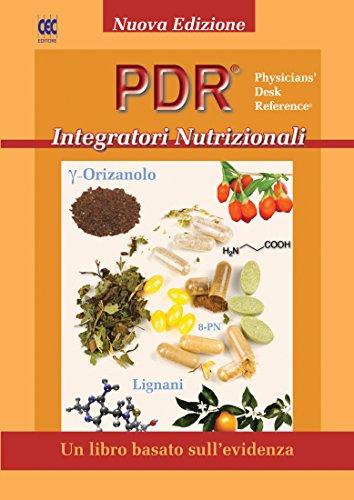 PDR Integratori Nutrizionali: Un Libro basato sull'evidenza