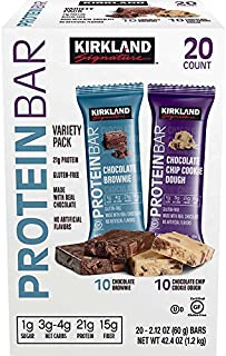 Kirkland Signature Protein bar Energy Variety Pack