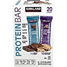 カークランドシグネチャープロテインバーバラエティパック2.12 オンス (20 カウント) Kirkland Signature Protein Bars Variety Pack 2.12oz (20-count)