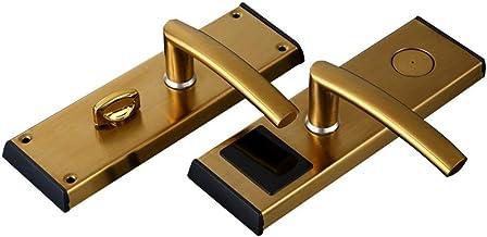 Smart deurslot Smart Password Lock Hotel Electronic Card Slot IC Card Lock Apartment Smart deurslot Deadbolt (Goud, Maat: ...