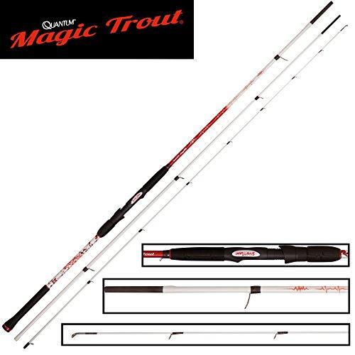 Quantum Magic Trout Impulsive 390cm 3-30g - Forellenrute zum Schleppangeln & Standangeln auf Forelle, Angelrute zum Forellenangeln
